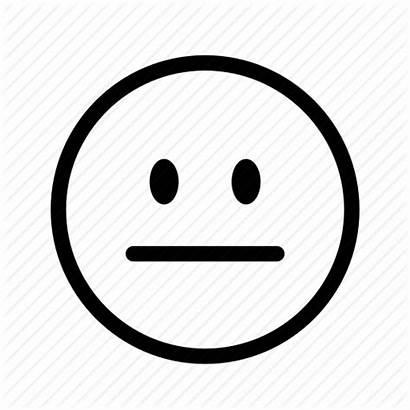 Neutral Emoji Emoticon Icon Unhappy Face Inspiration