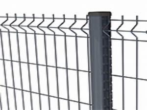 Grillage Rigide Gris Anthracite : cloture rigide gris cloture rigide gris anthracite fil ~ Dailycaller-alerts.com Idées de Décoration