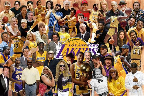 best gifts for lakers fans nba com top 10 celebrity lakers fans