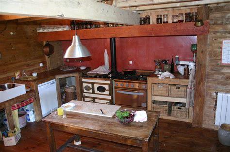 canalblog cuisine habillage bois teinté et tadelak ocre arkaia