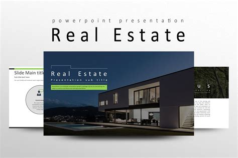 real estate powerpoint templates creative market