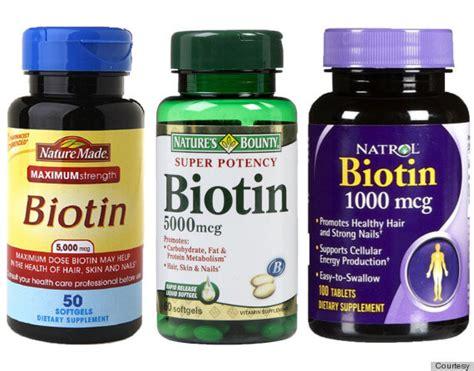 Biotin For Hair Loss, Hair Thinning, Skin And Nails