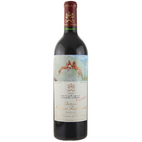 Shop 2012 Chateau Mouton Rothschild 750mL   Wally's Wine