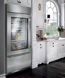 Glass Door Refrigerators: Designs Ideas, Inspiration and