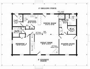 gallery for gt simple one story 2 bedroom house plans With simple 1 bedroom floor plans