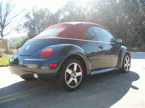 how to sell used cars 2005 volkswagen new beetle on board diagnostic system sell used 2005 volkswagen beetle new gls convertible best color combo fl car no reserve in
