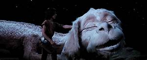 this jumping dog is the dragon from the neverending story