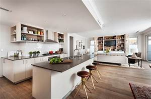 open floor plans a trend for modern living With kitchen design open floor plan