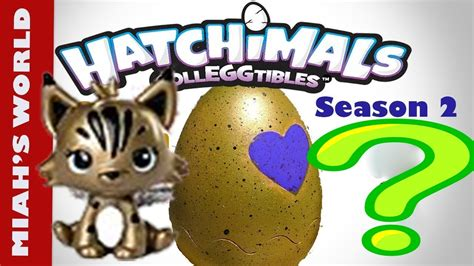 Hatchimals Colleggtibles Season 2 Rare Golden Hatchimals
