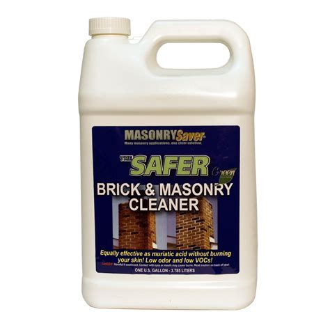 Safer Brick & Masonry Cleaner   MasonrySaver.com