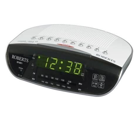 l radio alarm clock buy roberts cr9971 chronologic vi analogue clock radio