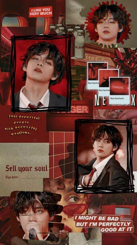 taehyung aesthetic wallpaper wallpaper hitam lucu