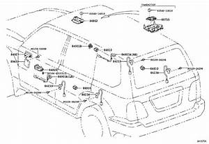 Lexus Lx 470 Board Sub-assembly  Printed Wire Integration  Switch  Engine  Door