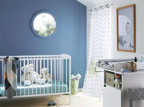 chambres de bébé davaus rideaux chambre bebe garcon bleu avec des