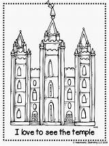 Lds Temple Coloring Salt Melonheadz Primary Drawing Lake Printable Colouring Clipart Church Sheets Illustrating Temples Conference Adult General Clip Activity sketch template