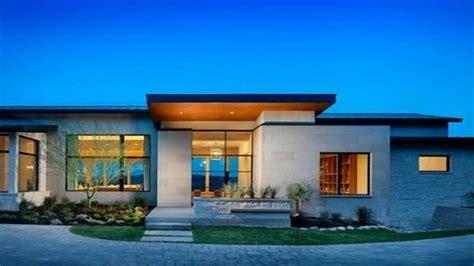 modern house plans single story home  bedroom house simple plan modern single story homes