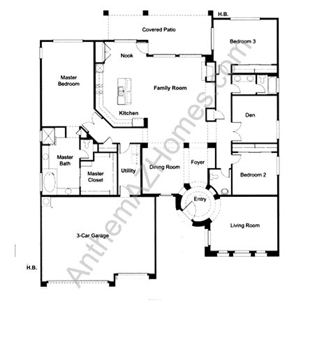 Floor Anthem by Anthem Parkside Floor Plans