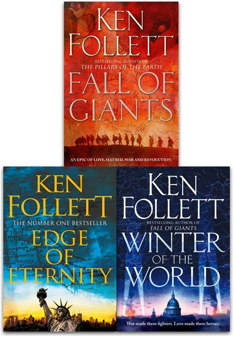 Best Ken Follett Books Ken Follett Century Trilogy Collection 3 Books Set Edge Of