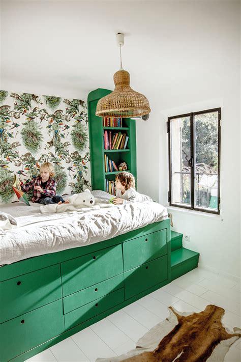 cabane dans chambre un lit cabane dans une chambre d 39 enfant blueberry home