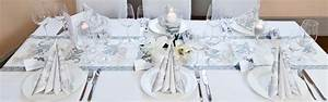 Tischdekoration Silberhochzeit Ideen : tischdeko in silber zur hochzeit oder silberhochzeit ~ Frokenaadalensverden.com Haus und Dekorationen