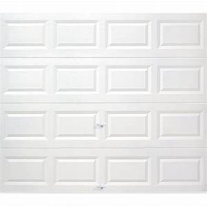 clopay value series 9 ft x 7 ft non insulated solid With 9 x 7 insulated garage door prices