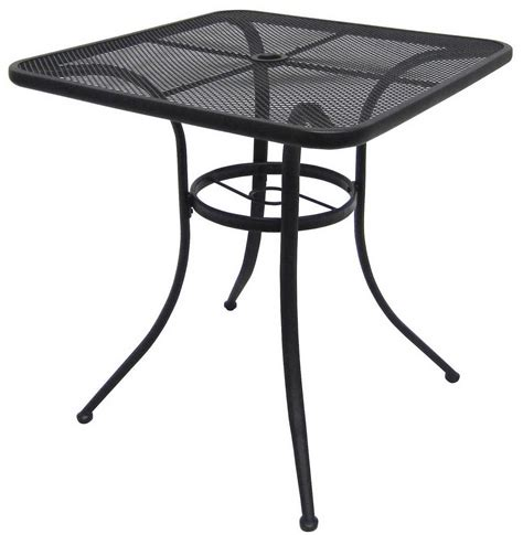 marvelous black metal patio table 1 wrought iron bistro
