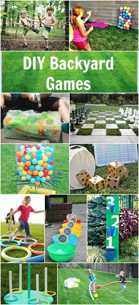 Diy Backyard Games  Field Day Ideas  Pinterest Summer
