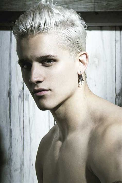 10 great haircuts for guys with white hair how to dye