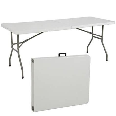 walmart plastic folding table folding table 6 39 portable plastic indoor outdoor picnic