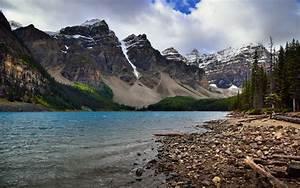 Banff, National, Park, Moraine, Lake, Alberta, Canada, Ultra, Hd, Wallpapers, For, Desktop, Mobile, Phones