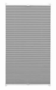 Plissee 65 Cm : easyfix plissee schiefer 65 x 130 cm 32631 ~ Markanthonyermac.com Haus und Dekorationen