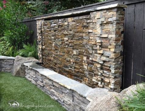 water features for walls outdoor 49 amazing outdoor water walls for your backyard digsdigs