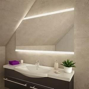 Spiegel Mit Schräge : mendoza led badspiegel mit dachschr ge online kaufen ~ Michelbontemps.com Haus und Dekorationen