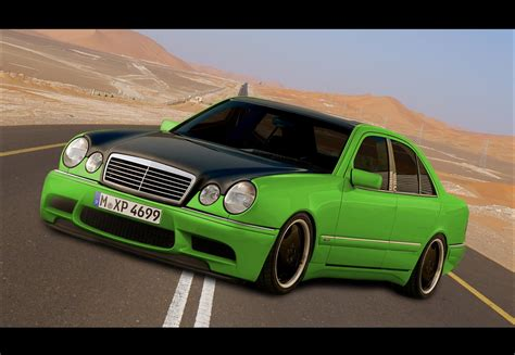 Fake Mercedes Benz W210