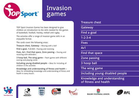 invasion games activities  ideas  daleyo teaching