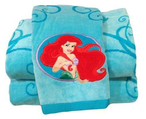 disney mermaid bathroom sets 17 best images about ariel towel on disney