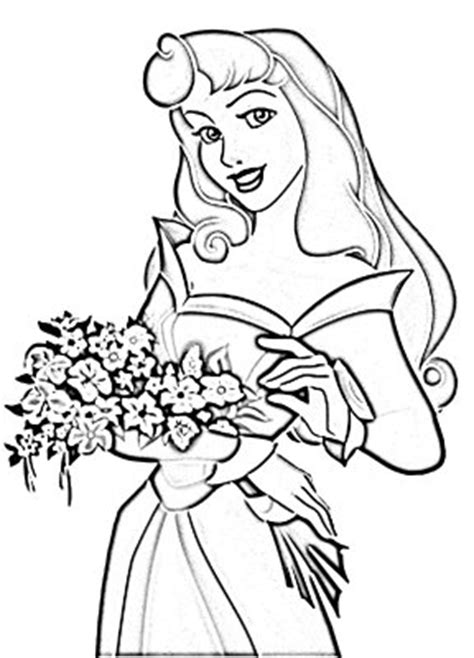 disney coloring page disney princess aurora coloring pages