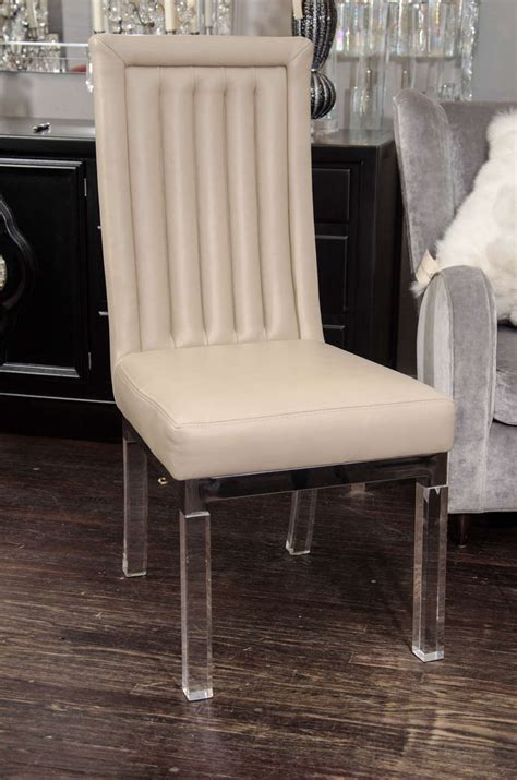 set of 10 channel back charles hollis jones dining chairs