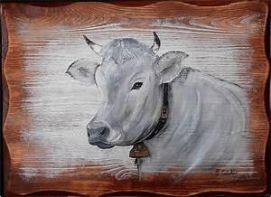 Plaisir D Interieur Deco Montagne : tableau peinture vache schwyz deco chalet peintures par peinture chalet montagne d co ~ Dallasstarsshop.com Idées de Décoration