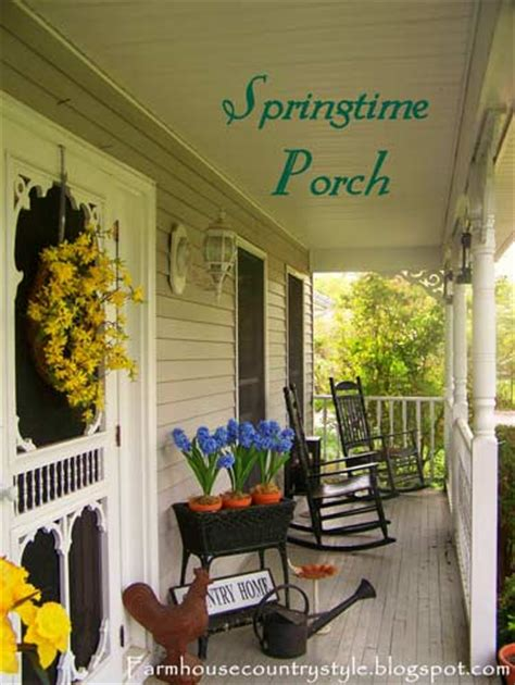 Stunning Country Front Porch Designs Photos by Country Porch Decorating Ideas House Experience