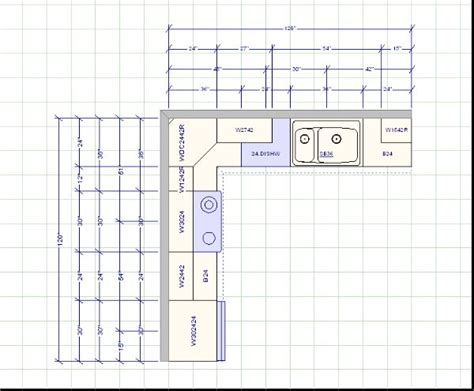 Kitchen Cabinet Layout Dimensions  For The Home  Pinterest