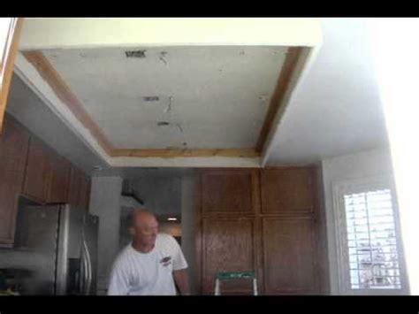 Kitchen Design Ideas 2012 - kitchen ceiling remodel youtube