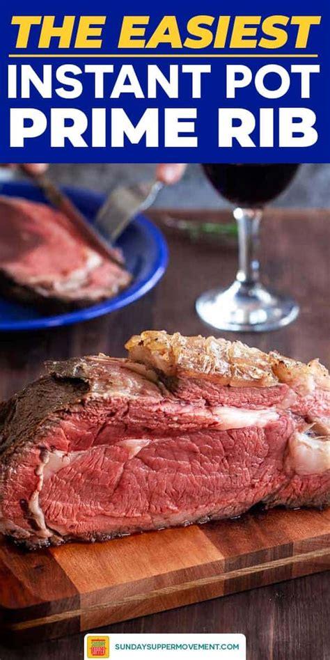 Boneless prime rib roast, instant pot prime rib, prime rib recipe, prime rib i have only 1 instapot. Prime Rib Insta Pot Recipe / Instant Pot Prime Rib Recipe Popsugar Food : An easy, excellent ...