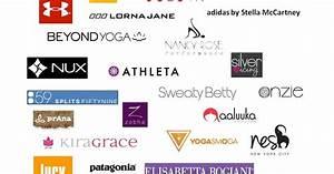 Fitness Clothing Brand Symbols