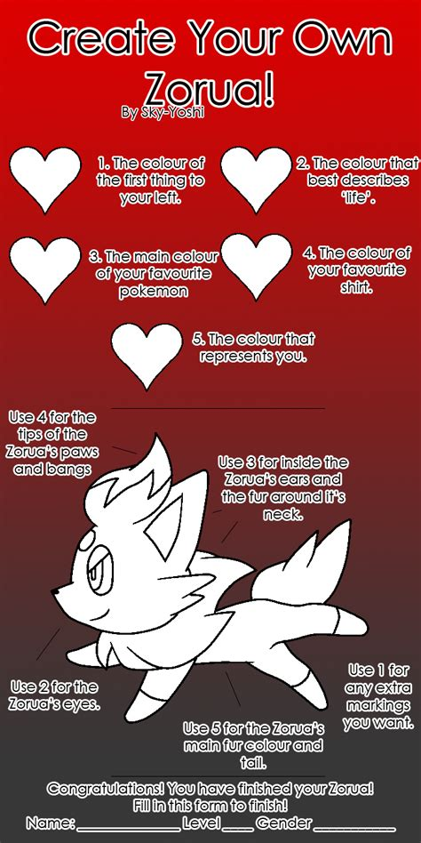 How To Create Your Own Memes - create your own zorua meme by sky yoshi on deviantart
