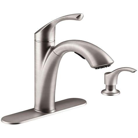 kohler kitchen faucets kohler single handle kitchen faucet