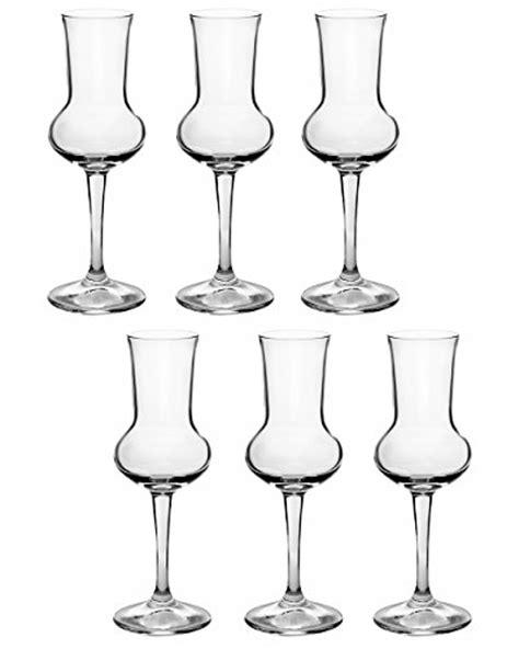bicchieri per grappa bormioli riserva grappa 80ml 6 bicchieri 0