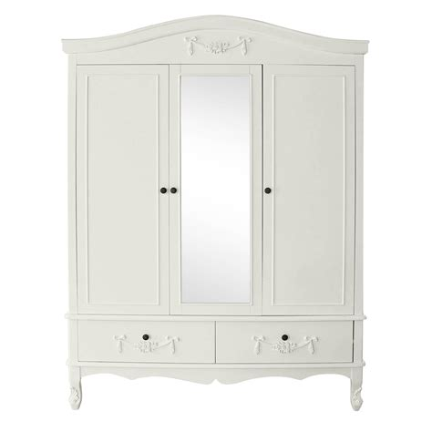 White Freestanding Wardrobe by Decorate Your House With White Wardrobe Blogalways