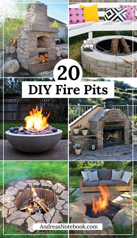 Diy Backyard Pit by 20 Outdoor Pit Tutorials
