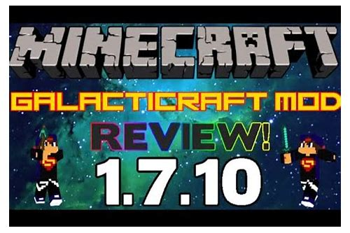 galacticraft mod 1.7.10 download